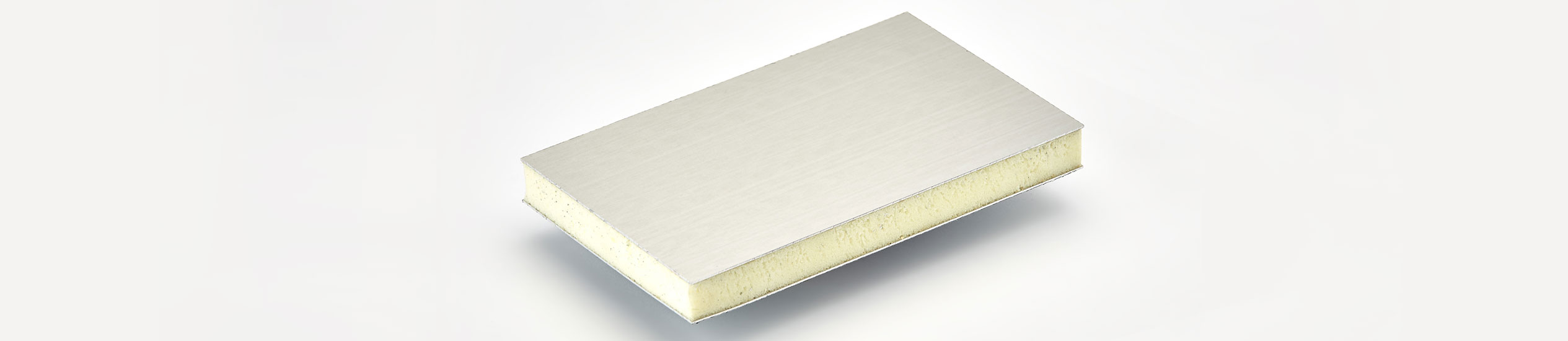 "COMPOCEL ALF is a lightweight panel composed by a core in EPS ""extruded polystyrene"" and bonded with aluminium faces.Foam core is offered in different densities"