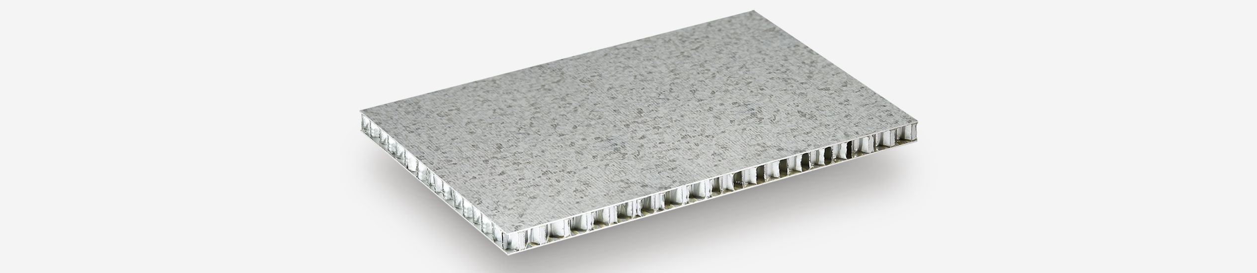 Cel produces sandwich panels in aluminum honeycomb, impregnated with epoxy faced with steel, for ventilated facades and exterior facades Compocel LZ