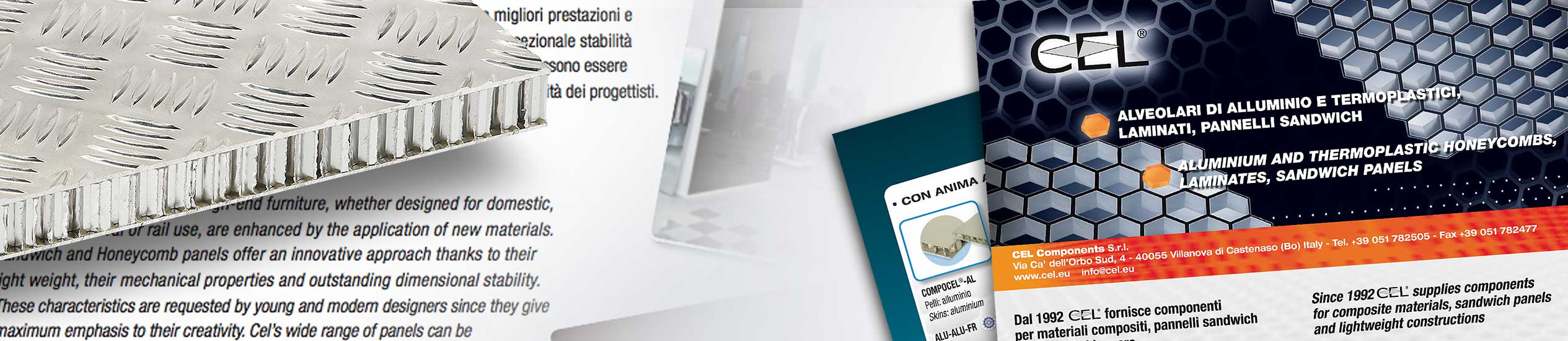 Brochure and leaflet to download concerning the wide range of CEL's products